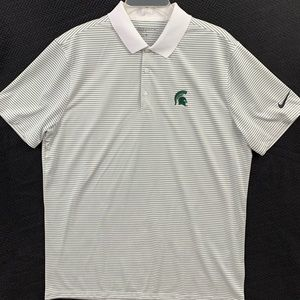NikeGOLF L Michigan State Spartans polo